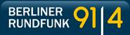 91.4 Berliner Rundfunk Logo