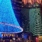 Sony Center Berlin - Weihnachtsdeko