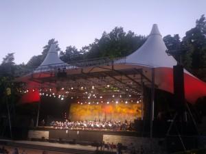 Berliner Philharmoniker in der Waldbühne Berlin